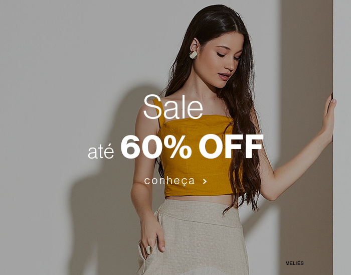 Sale até 60% OFF